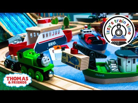 Thomas and Friends | BOAT CITY WITH THOMAS | Fun Toy Trains for Kids with Brio