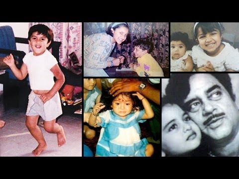 Rare And Unseen Childhood Pictures Of Bollywood Stars video
