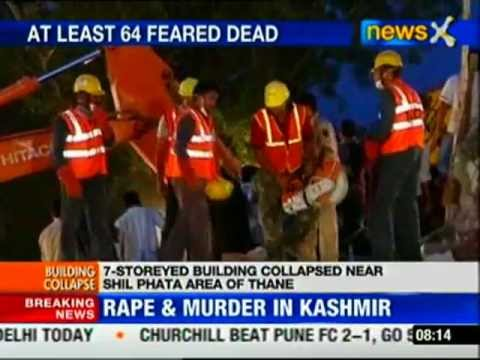 Thane building collapse: Death toll rises to 68