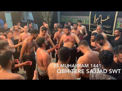 Tere Sajjad ne Baba-23 Muharram 1441 /2019 QBH Bonn Germany