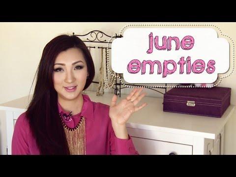 June Empties & Favorites