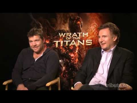 Sam Worthington & Liam Neeson - Wrath of theTitans Interview with Tribute