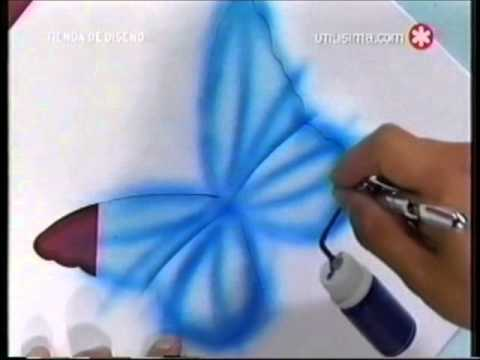 Aerografia alejandro ramirez canal utilisima for Utilisima decoracion