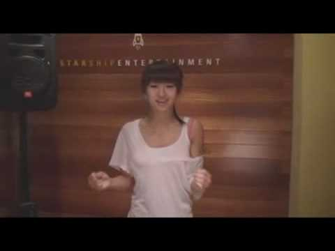Hyo Rin (SISTAR) Audition clip. (Christina Aguilera - Hurt) Music Videos