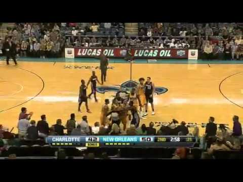 Charlotte Bobcats Vs New Orleans Hornets Highlights 11/9/12