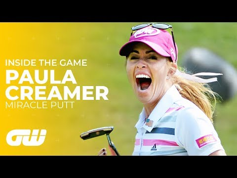 This Week in Golf: Paula Creamer putt