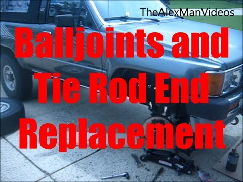 How To Replace Balljoints and Tie Rod Ends: IFS Toyota Trucks and 4Runners