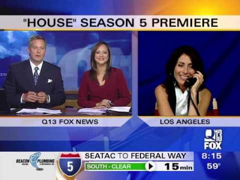 Lisa Edelstein on Q13 Fox Morning  News (HQ)