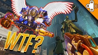 Reinhardt can FLY?! Overwatch Funny & Epic Moments 444