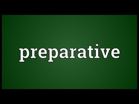 Header of preparative