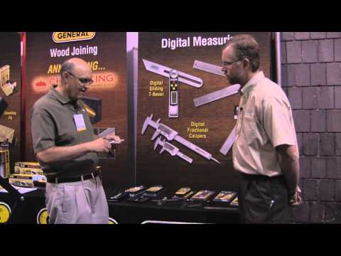 General Tools Reviews Digital Accessories for Woodworking - IWF 2014