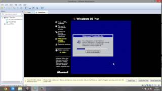 VMware Workstation ile Windows 98 kurulumu