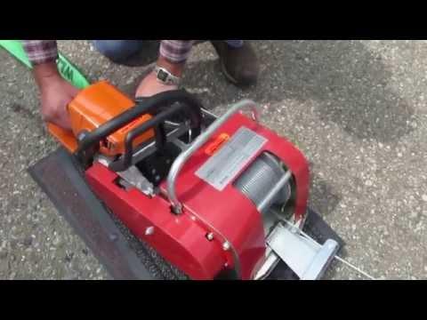 Seilwinde für Motorsägen Anbau /VIIG 615 330 mit Stihl  MS 250