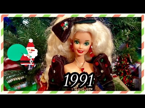Download  1991 / 28 Years of Holiday Barbie Dolls! / Christmas Collection Advent / 1991 Happy Holidays Doll Gratis, download lagu terbaru