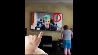 i caught a ghost in Ninjas livestream...