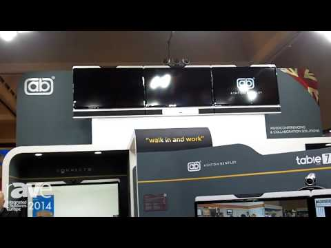 ISE 2014: Ashton Bentley Presents Twin/Triple Screen Videoconference and Presentation Environment