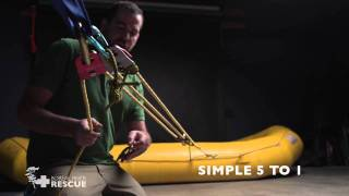 Mechanical Advantage Systems & Z-Drag for Whitewater, Swiftwater & Technical Rope Rescue