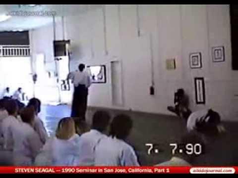 Steven Seagal Aikido Seminar-1990-Part 1