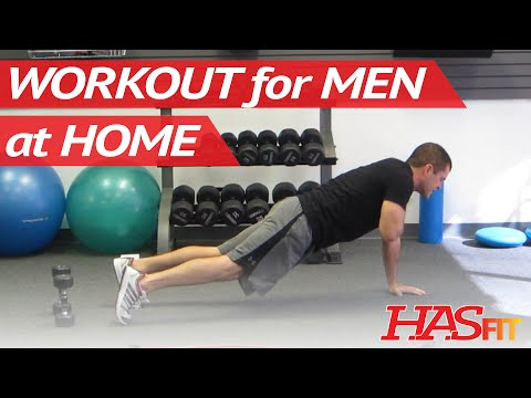 10 Minute Workout For Men At Home | Total Body Workout For Men | Cardio Routine | Hasfit 102311 video