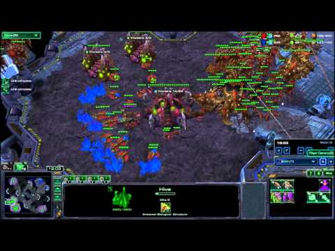 StarCraft 2 Very Hard A.I. Zerg vs Terran
