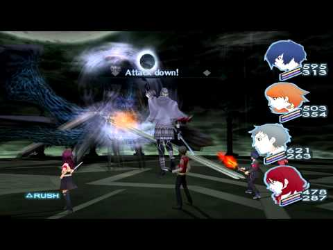 Persona 3 FES The Journey FINAL Boss NYX [Hard]