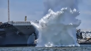 U.S. Navy Testing • Electromagnetic Aircraft Launch System