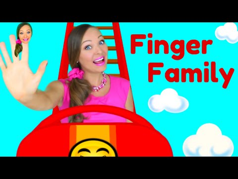 Finger Family Song - Daddy Finger Nursery Rhymes for Children, Kids and Toddlers