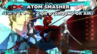 Persona 4 Arena Ultimax: Adachi Moves