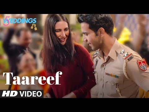 Taareef Video | 5 Weddings | Raj Kummar Rao, Nargis Fakhri | Palak Muchhal , Rommy T, Rockon T