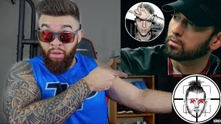 WHO WON!? MGK vs EMINEM - RAP DEVIL and KILLSHOT - REACTION