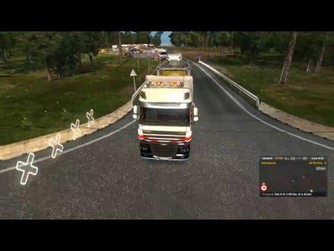 Euro Truck Simulator 2 Konwój Firmowy #2  2/5 W/MrBartass444 PrezesGaming