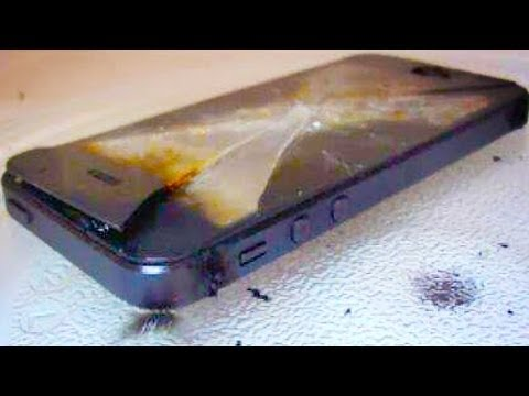iPhone Users Trolled into MICROWAVING THEIR PHONES
