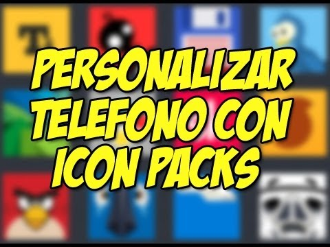 5 Icon packs  SENSACIONALES | Paquetes de iconos android - Happy Tech