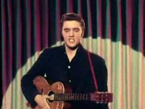 elvis presley blue suede shoes color Video