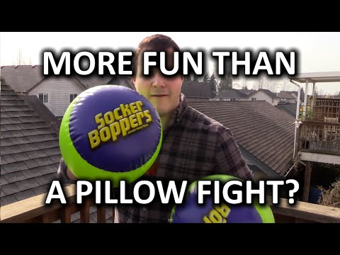 Socker Boppers - More (super) fun than a pillow fight?
