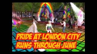 PRIDE at London City (Second Life) June 2016
