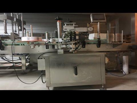 corner labeling machinery boxes bottle carton labeller equipment automatic coin machine d'étiquetage