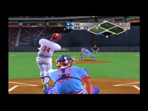No Hitter Minnesota Twins Dynasty MVP Baseball 2005 Franchise Wars Game Rangers vs Twins