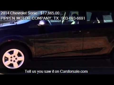 2014 Chevrolet Sonic LS for sale in Carthage, TX 75633 at PI