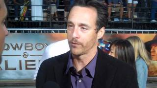 Cowboys & Aliens - Red Carpet Interview - Brendan Wayne