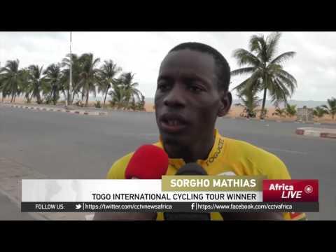 Togo Cycling Tour: Burkina Faso's Mathias wins six-stage tour in Lome