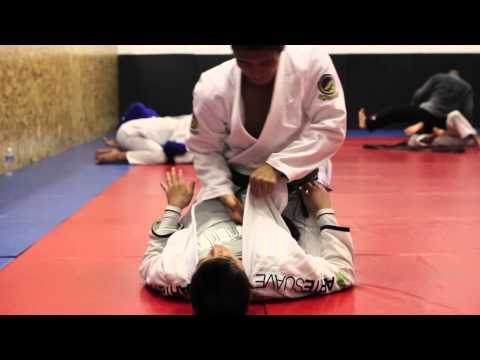 BJJ - Mount Choke Drill Beginner - Technics Jiu-Jitsu Honolulu Hawaii Image 1