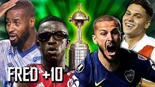 Top 10 - A Libertadores mais louca da História!