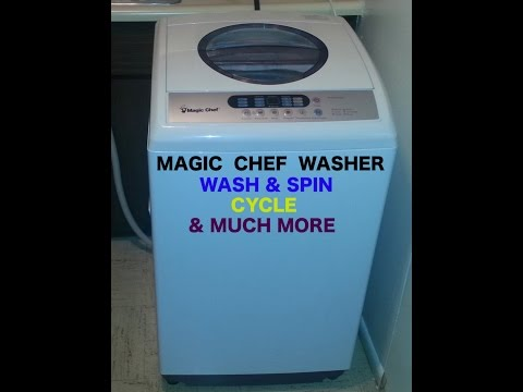 magic chef portable washing machine