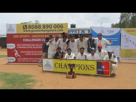 ABR SPORTS - Greater Bangalore Challenger Cup - III: Presentation ceremony