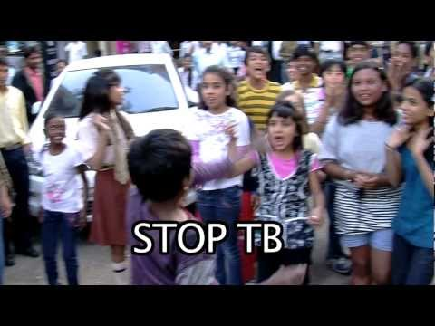 THE MAKING OF INDIA'S FIRST KIDS FLASH MOB DANCE - For World TB Day 2012