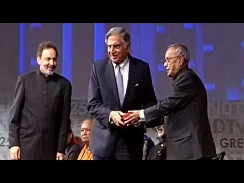Ratan Tata honoured as one of the Greatest Global Living Indians