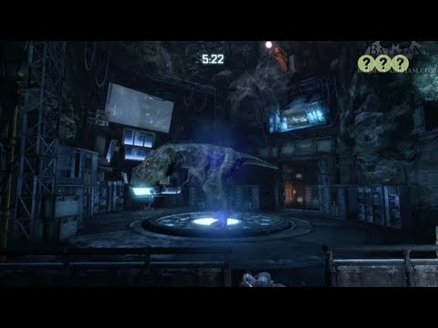 The Batcave DLC ALL MEDALS - Batman: Arkham City Riddler's Revenge