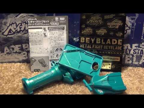 Beyblade Accessory REVIEW: OFFICIAL WBBA Bey Launcher & 3 Segment Launcher Grip Set