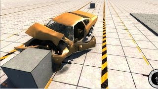 BeamNG Drive Pre-Race Update - Crash Tests Ep 3